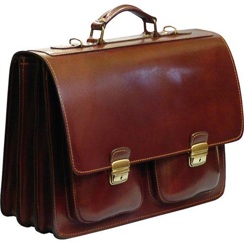 Cartelle e borse professionali in cuoio -leather briefcase-borse ... 59ae78f322d